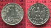 1 Reichsmark 1937 F III. Reich 1933-1945 Nickel prfr.  35,00 EUR  zzgl. 4,20 EUR Versand