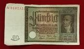 50 Rentenmark 1934 Weimarer Republik Rentenbank 6. Juli 1934 Freiherr v... 55,00 EUR  +  8,50 EUR shipping