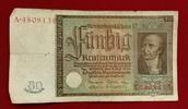 50 Rentenmark 1934 Weimarer Republik Rentenbank 6. Juli 1934 Freiherr v... 29,00 EUR  zzgl. 4,20 EUR Versand