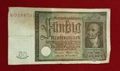 50 Rentenmark 1934 Weimarer Republik Rentenbank 6. Juli 1934 Freiherr v... 35,00 EUR  +  8,50 EUR shipping