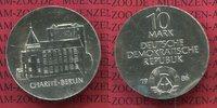 10 Mark DDR Silber Gedenkmünze 1986 DDR 200 Jahre Charité Berlin Stempe... 50,00 EUR  zzgl. 4,20 EUR Versand