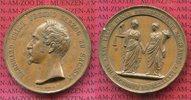 Bonzemedaille 1846 Sachsen Meiningen Bernhard Erich Freund 1803-1866 25... 55,00 EUR  + 8,50 EUR frais d'envoi