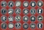 Lot von 12 Silbermünzen 1981/1982 Lot Silbermünzen FIFA WM 1982 Lot von... 343.82 US$ 299,00 EUR  +  9.77 US$ shipping