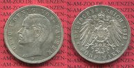 5 Mark 1913 D Bayern König Otto, Kursmünze, vz-prfr. min rdf. kl. Patin... 70,00 EUR  + 8,50 EUR frais d'envoi