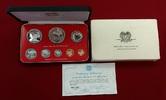 1 Toea bis 10 Kinas 1976 Papua Neu Guinea Proof Set 8 Münzen Tiermotive... 49,00 EUR  + 8,50 EUR frais d'envoi