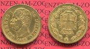 20 Lire Lira Goldmünze 1882 Italien Italy, Kingdom Umberto I. Kursmünze... 235,00 EUR  zzgl. 4,20 EUR Versand