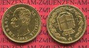 20 Lire Lira Goldmünze 1882 Italien Italy, Kingdom Umberto I. Kursmünze... 281.72 US$ 245,00 EUR  +  9.77 US$ shipping