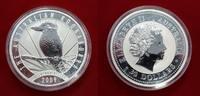 30 Dollar 1 Kilo Silbermünze 2009 Australien Kookaburra Stempelglanz mi... 679,00 EUR  + 15,00 EUR frais d'envoi