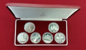 Lot 6 x 1 Rubel Ku/Ni 1977-1980 Russland Olympiade 1980 in Moskau Bankf... 28,00 EUR  zzgl. 4,20 EUR Versand