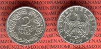 2 Mark 1926 A Weimarer Republik Kursmünze ss kleiner Randfehler  14,00 EUR  + 8,50 EUR frais d'envoi
