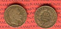 10 Francs Goldmünze 1865 A Frankreich Napoleon III. sehr schön  119,00 EUR  + 8,50 EUR frais d'envoi