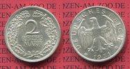 2 Mark Silbermünze 1931 F Weimarer Republik Deutsches Reich Kursmünze  ... 65,00 EUR  + 8,50 EUR frais d'envoi