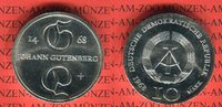 10 Mark Silbergedenkmünze 1968 DDR Silbergedenkmünze 500. Todestag Joha... 39.26 US$ 35,00 EUR  +  9.53 US$ shipping