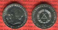 20 Mark Silbergedenkmünze 1971 DDR Silbergedenkmünze 100. Geburtstag Ka... 54.97 US$ 49,00 EUR  +  9.53 US$ shipping