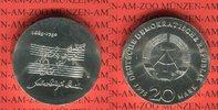20 Mark Silbergedenkmünze 1975 DDR Gedenkmünze 225. Todestag Johann Seb... 60.58 US$ 54,00 EUR  +  9.53 US$ shipping