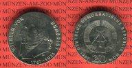20 Mark Silbergedenkmünze 1967 DDR Gedenkmünze 200. Geburtstag Wilhelm ... 61.10 US$ 55,00 EUR  +  9.44 US$ shipping