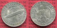 3 Mark 1930 A Weimarer Republik Gedenkmünze Zeppelin Weltflug LZ 127 19... 99.84 US$ 89,00 EUR  +  9.53 US$ shipping