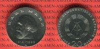 20 Mark Silbergedenkmünze 1968 DDR Gedenkmünze 150. Geburtstag Karl Mar... 54.43 US$ 49,00 EUR  +  9.44 US$ shipping