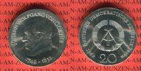 20 Mark Silbergedenkmünze 1969 DDR Gedenkmünze 220. Geburtstag Johann W... 76.65 US$ 69,00 EUR  +  9.44 US$ shipping
