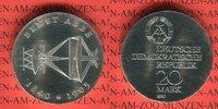 20 Mark Silbergedenkmünze 1980 DDR Gedenkmünze 75. Todestag Ernst Abbe ... 54.43 US$ 49,00 EUR  +  9.44 US$ shipping
