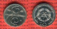 10 Mark Silbergedenkmünze 1968 DDR Gedenkmünze 500. Todestag Johannes G... 38.88 US$ 35,00 EUR  +  9.44 US$ shipping