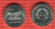 20 Mark Silbergedenkmünze 1975 DDR Gedenkmünze 225. Todestag Johann Seb... 59.99 US$ 54,00 EUR  +  9.44 US$ shipping