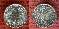 1 Mark Silbermünze 1908 E Kaiserreich German Empire Kursmünze Erhaltung... 39.26 US$ 35,00 EUR  +  9.53 US$ shipping
