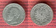 2 Mark Silbermünze 1877 Baden Großherzog Friedrich schön, kl. Randfehle... 49.99 US$ 45,00 EUR  +  9.44 US$ shipping