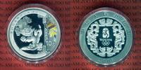 10 Yuan Farbmünze, 1 Unze 2008 China Olympische Spiele 2008 Löwentanz P... 49.99 US$ 45,00 EUR  +  9.44 US$ shipping