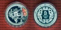 10 Yuan Farbmünze, 1 Unze 2008 China Olympische Spiele 2008 Bauerntanz ... 49.99 US$ 45,00 EUR  +  9.44 US$ shipping