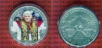 1 Dollar Farbmünze 2006 USA Papst Benedikt XVI, Habemus Papam PP in Kap... 43.33 US$ 39,00 EUR  +  9.44 US$ shipping