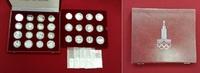 14 x 5 u. 14 x 10 Rubel Silber 1977-1980 Russland, USSR, UDSSR Olympisc... 498.80 US$ 449,00 EUR  +  27.77 US$ shipping
