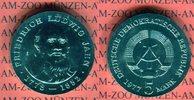 5 Mark 1977 DDR Gedenkmünze 125. Todestag Friedrich Ludwig Jahn prägefr... 16.66 US$ 15,00 EUR  +  9.44 US$ shipping