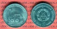 5 Mark 1988 DDR Gedenkmünze 150 Jahre Deutsche Ferneisenbahn prägefrisc... 5.55 US$ 5,00 EUR  +  9.44 US$ shipping