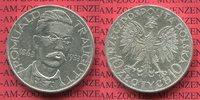 10 Zloty 1933 Polen, Poland Traugutt Gedenkmünze ss +  75,00 EUR  + 8,50 EUR frais d'envoi