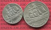 2 und 5 Zloty Silber 1936 Polen, Poland 1936 15th Anniversary of Gdynia... 75,00 EUR  +  8,50 EUR shipping