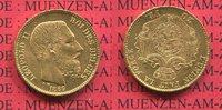 20 Francs Franken Gold Leopold II. 1869 Belgien Belgium Gold Leopold II... 260,00 EUR  + 8,50 EUR frais d'envoi