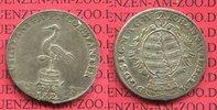1/6 Taler 1718 Sachsen Eisenach Johann Wil...