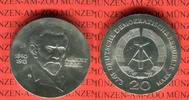 20 Mark Silbergedenkmünze 1973 DDR Gedenkmünze 60.Todestag August Bebel... 39,00 EUR  +  8,50 EUR shipping