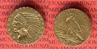 5 Dollar Goldmünze 1911 USA Indianerkopf Half Eagle Indian Head vz  450,00 EUR kostenloser Versand