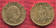 20 Mark Goldmünze 1894 E Sachsen, German Empire Kingdom of Saxonia Köni... 425,00 EUR  +  8,50 EUR shipping
