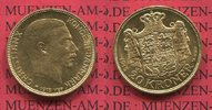 20 Kronen Kroner Goldmünze 1915 Dänemark K...