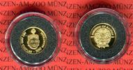 300 Ngultrum Minigoldmünze 1997 Bhutan Tanzmaske PP in Kapsel  59,00 EUR  + 8,50 EUR frais d'envoi