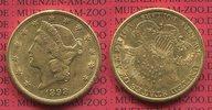 20 Dollars Goldmünze Double Eagle 1898 S U...