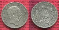 5 Mark Silbermünze 1900 Sachsen, Saxony German Empire König Albert Kurs... 110.80 US$ 99,00 EUR  +  9.51 US$ shipping