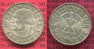 5 Reichsmark Silbermünze 1933 A III. Reich 1933-1945 450. Geburtstag vo... 144.38 US$ 129,00 EUR  +  9.51 US$ shipping
