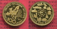 100 Euro Gold, 1/2 Unze 2004 Belgien, Belgium EU Erweiterung PP  727.50 US$ 650,00 EUR  +  9.51 US$ shipping