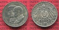 2 Mark Silber 1909 Sachsen Uni Leipzig, Friedrich August III. vz-prfr  75,00 EUR  + 8,50 EUR frais d'envoi