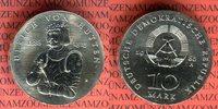 10 Mark Silbergedenkmünze 1988 DDR Gedenkmünze 500. Geburtstag Ulrich v... 75,00 EUR  + 8,50 EUR frais d'envoi