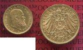 10 Mark Goldmünze 1906 Württemberg König Wilhelm II. vz-prfr min rdf.  280,00 EUR  + 8,50 EUR frais d'envoi